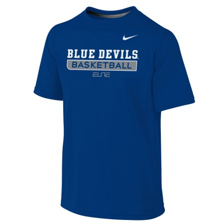 Nike Basketball Practice Tee (Duke Blue Devils Nike Youth Basketball Legend Practice Performance T-Shirt - Royal)