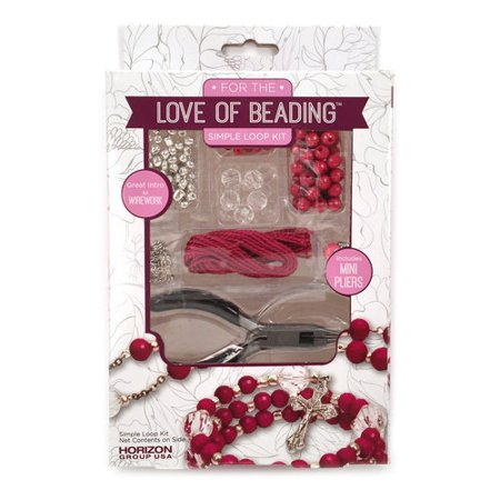 For the Love of Beading Starter Kit Simple Loop, 1 Each