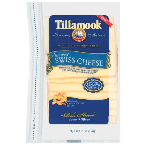 Tillamook Smoked Swiss Cheese, 7 oz