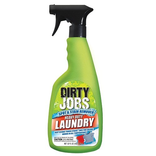 Dirty Jobs Heavy-Duty Laundry Spot ; Stain Remover, 32 fl oz