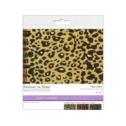 Multicraft Cardstock 6x6 Safari Cheetah 2 6pc