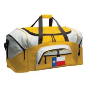 Broad Bay Texas Flag Duffel Bag or Texas Flag Luggage Bag