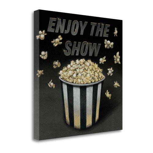 Tangletown Fine Art 'Enjoy the Show' by Wild Apple Portfolio Graphic Art on Wrapped Canvas
