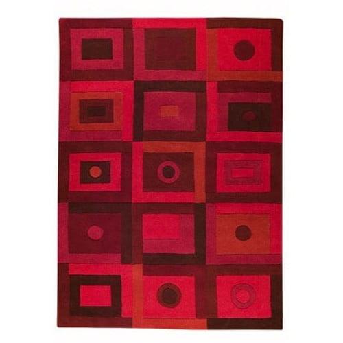 Hokku Designs Mabry Red Area Rug