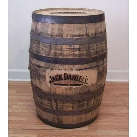 Jack Daniels Whiskey Barrel Branded And Engraved Walmart Com