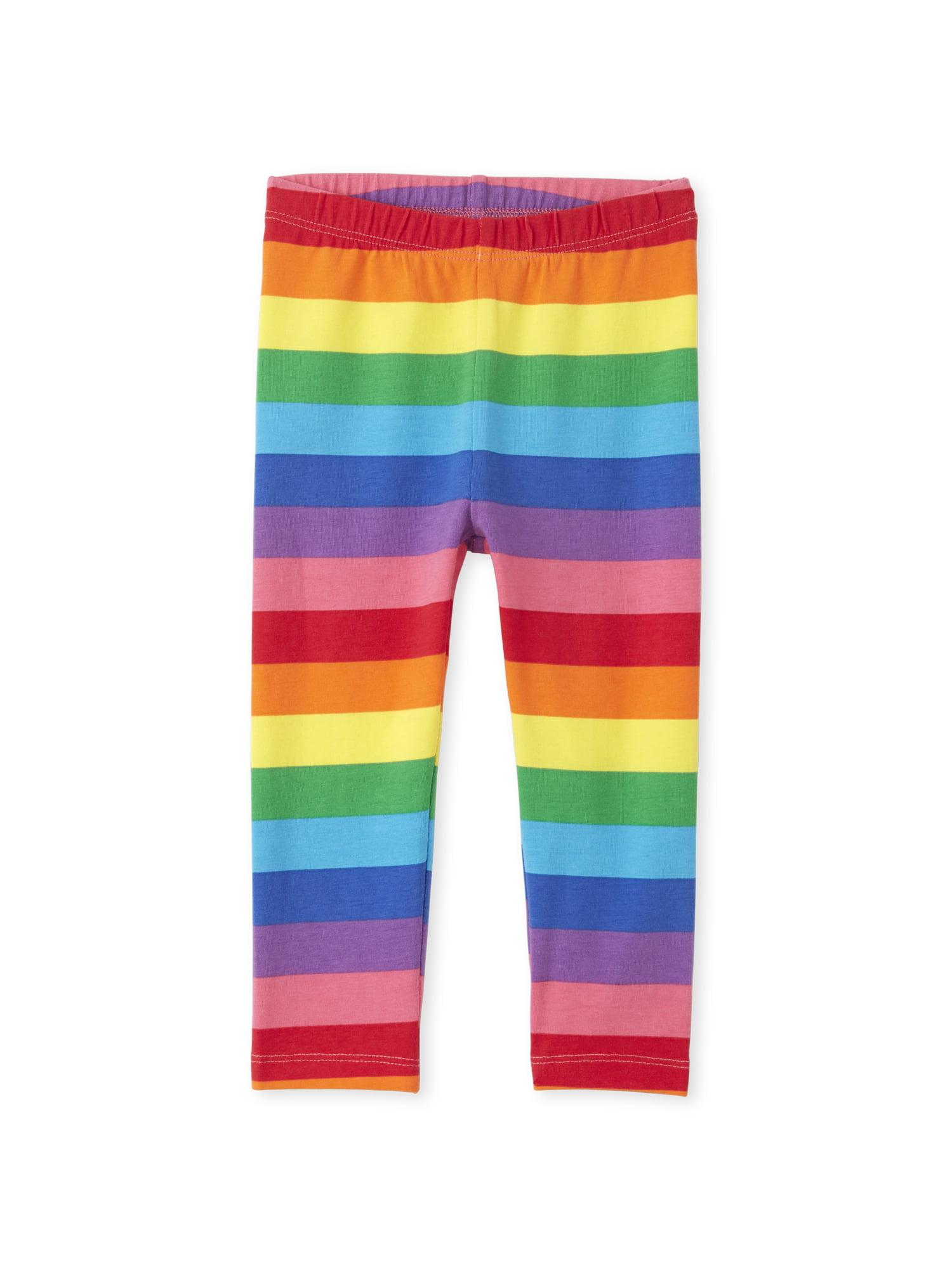 toddler pants rainbow pants multicolour leggings baby leggings girls clothing Galaxy print leggings