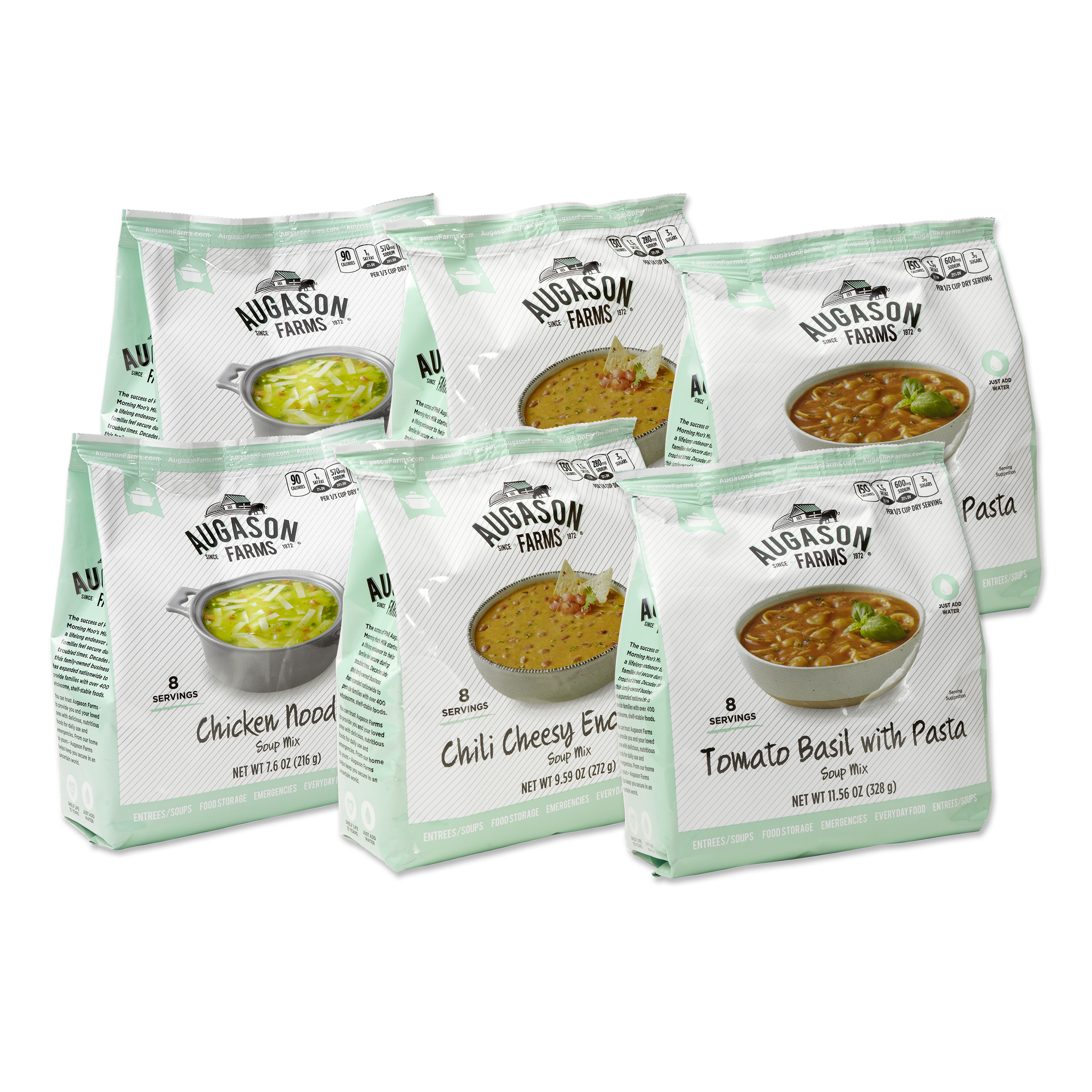 Augason Farms Soup Variety Bundle Pack (