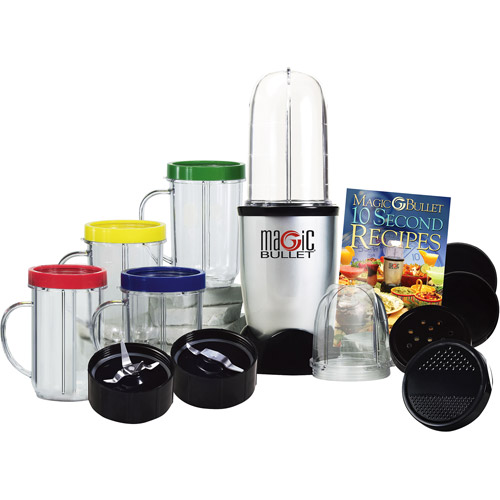As Seen on TV Magic Bullet Express Blender and Mixer System, 17-piece Set