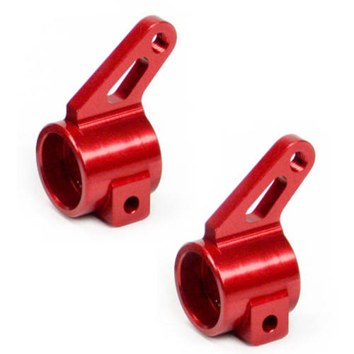 Alloy Front Steering Knuckle for Traxxas Slash 2WD, 1:10, Red