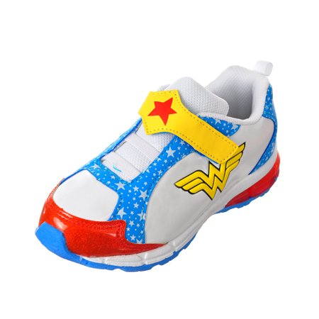 Wonder Woman Girls' Sneakers (Toddler Sizes 8 - 12) (Wonder Woman Vans)