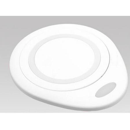 Wireless Charging Pad Charger for ZTE Telstra Tough Max, Axon 9 Pro, Xiaomi Mi Mix 2s, Yotaphone 2 (White)
