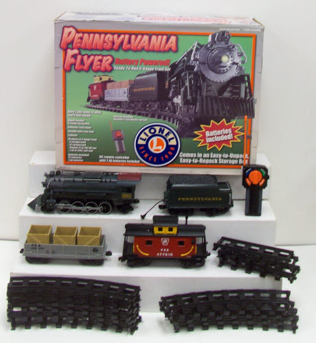 Lionel 7-11140 G Pennsylvania Flyer Large Scale Train Set
