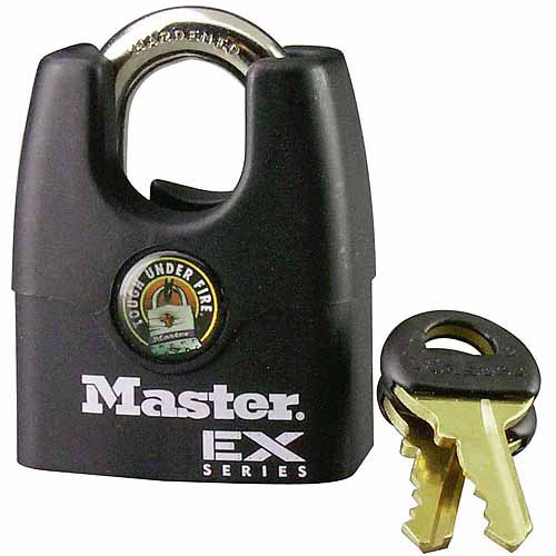 "Master Lock 1DEX 1-3/4"" EX Series Shrouded Padlock"