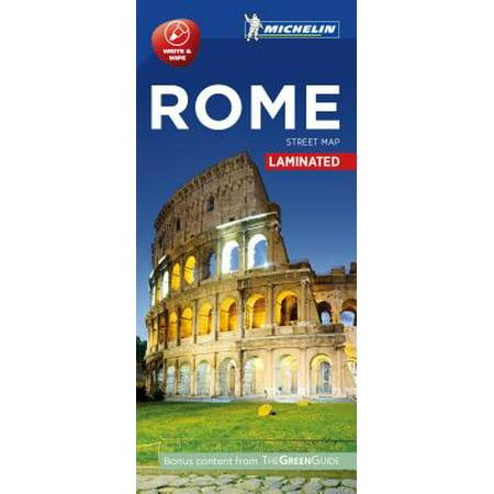 Michelin rome city map - laminated: 9782067214101