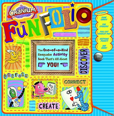 Cranium Funfolio with Sticker and Cards and Other and Frame