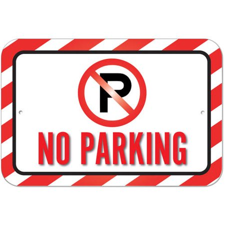 No Parking Sign Walmartcom