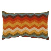 Pillow Perfect Panama Wave Adobe Rectangular Throw Pillow