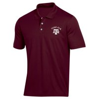 Men's Russell Athletic Maroon Texas A&M Aggies Classic Dot Mesh Polo