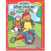 Instant Bible Lessons for Toddlers: My Amazing God (Paperback)