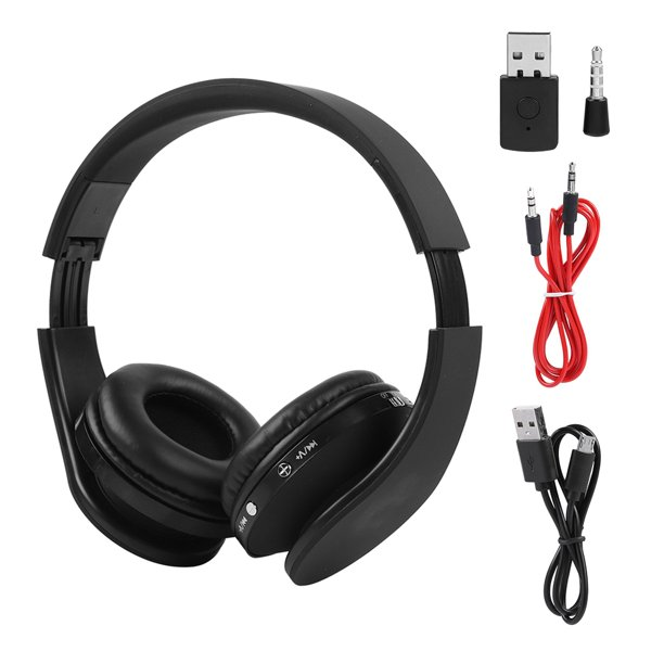 Wireless Bluetooth Headphones For Ps4 Gaming Headset Hifi Stereo Headphones With Mic Inbuilt Noise Cancelling Bluetooth Headset Walmart Com Walmart Com