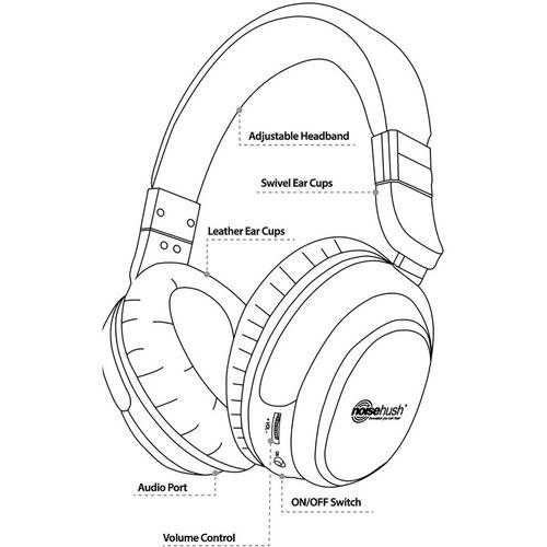 noisehush i7 active noise canceling headphones 3 5mm walmart 3 12 Subwoofer Enclosure