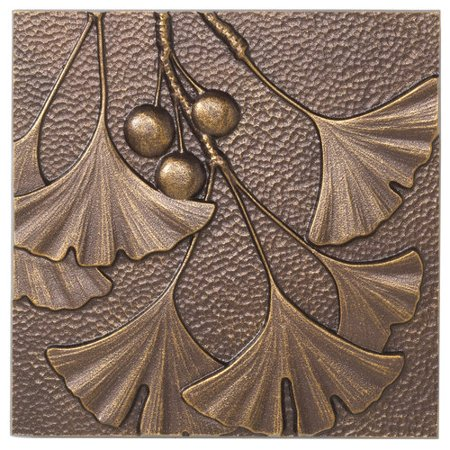 Gingko Leaf Wall Decor, Antique (Antique Copper Outdoor Wall)