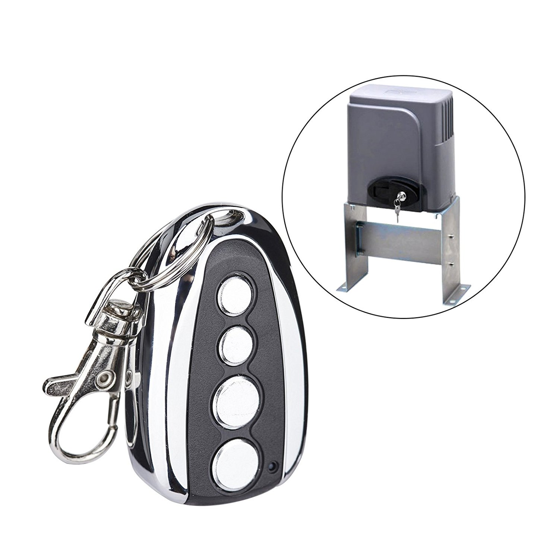 U-shaped Wireless Universal Remote Control Metal 4 Key Garage Door Duplicator