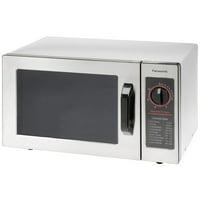 Panasonic NE-1025F - Microwave Oven,  0.8 Cu. Ft. 1000 Watt, Dial Control, Commercial Unit, Lot of 1