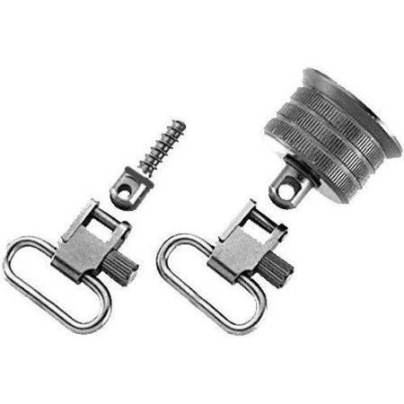 Uncle Mikes 1810 2 Magazine Cap Swivel Set  M500  12Ga