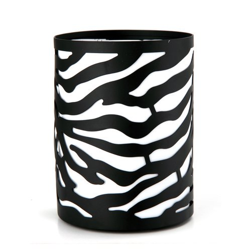 Better Homes And Gardens Zebra Candle Sleeve Bronze