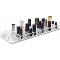 BY ALEGORY Acrylic Lipstick Makeup Organizer With Removeable Silicone Support Inserts | 48 Spaces Fits Alex 9 Drawers