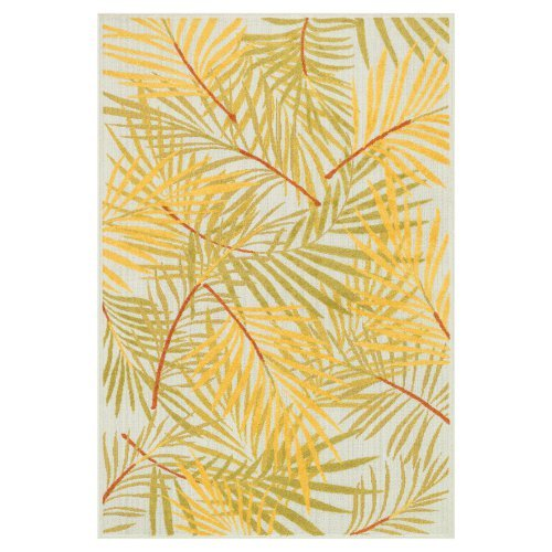 Loloi Catalina Indoor / Outdoor Rug - Ivory / Lime