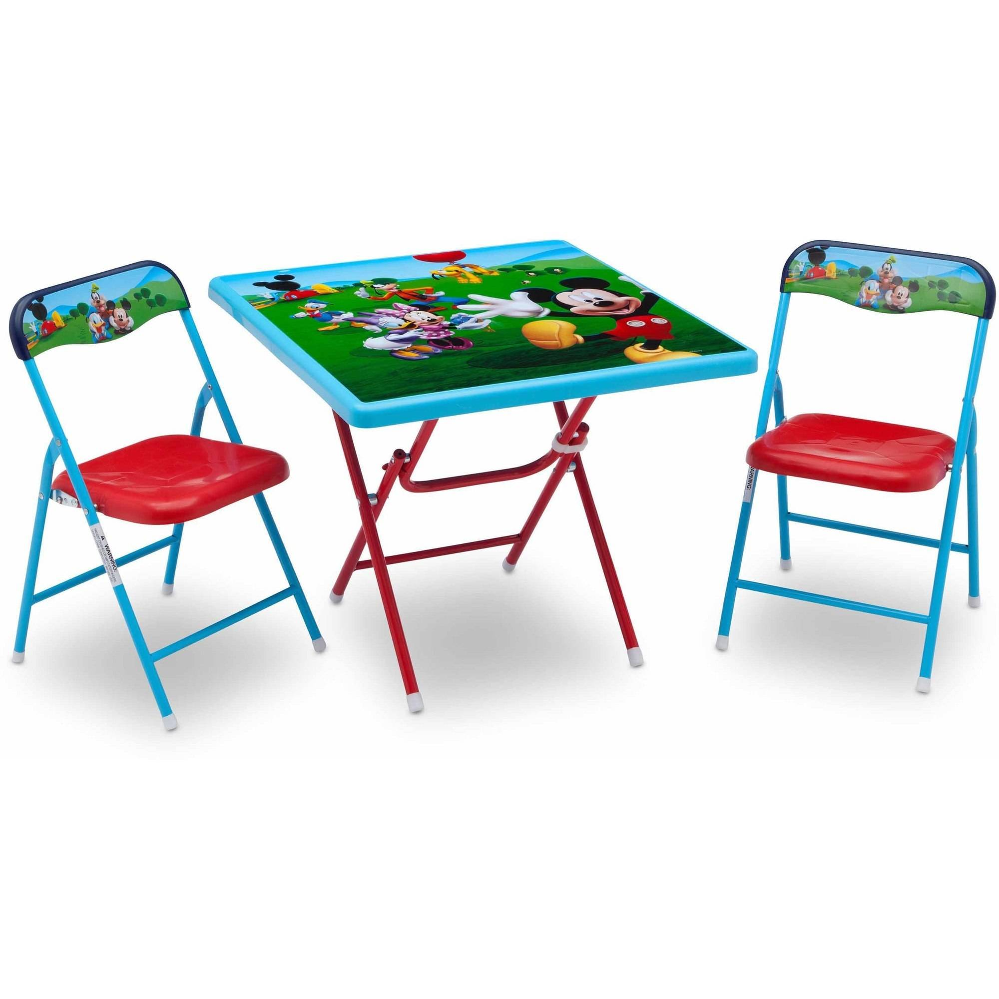 Merveilleux Disney Mickey Mouse Toddler Children Playroom Toy Organizer, Table And Chair  Set