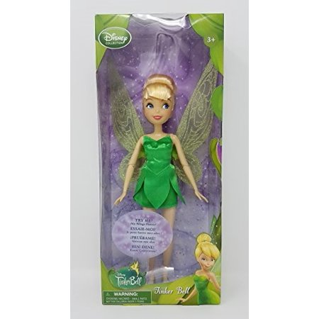 Disney Collection Tinker Bell 10 Inch Doll (Wings Flutter) Fairy Fairies Figure - Tinkerbell Tooth Fairy