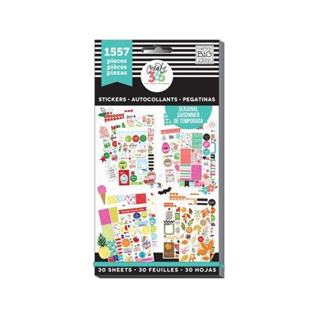 The Happy Planner Seasonal Stickers Value Pack: 1557 Pack
