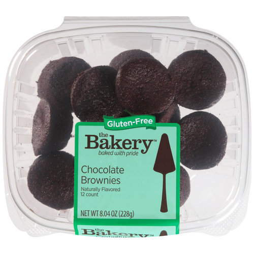 The Bakery at Wal-Mart Gluten-Free Chocolate Brownies, 12 count, 8.04 oz