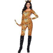 Leg Avenue Women's Wild Tiger Sexy Catsuit Costume