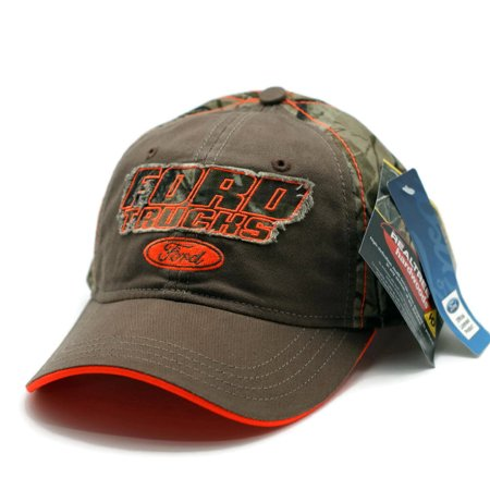 Hat - Ford Trucks Real Tree Camouflage Embroidered Ball Cap FREE SHIPPING - Truck Hats