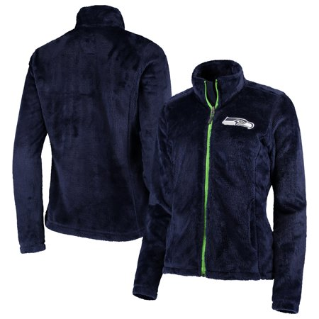 Seattle Seahawks G-III 4Her by Carl Banks Women's Goal Line Full-Zip Jacket - College Navy