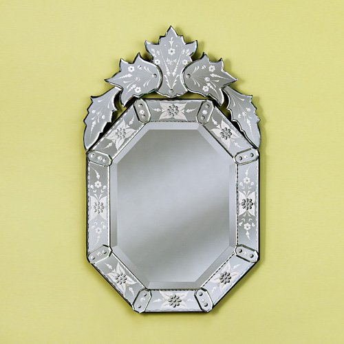 Large Olivia Venetian Mirror - 27.5W x 47.5H in.