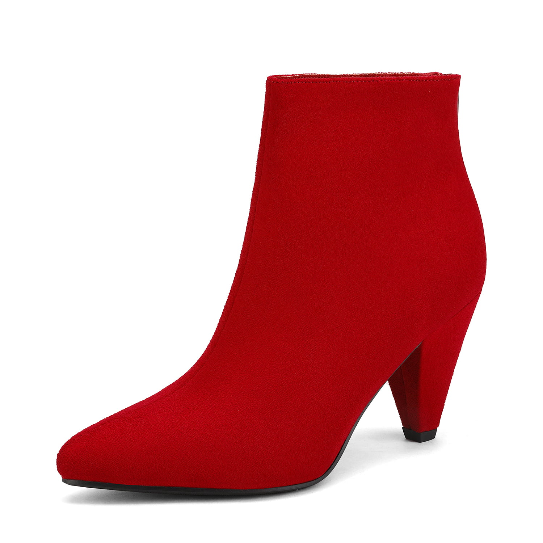 Pointed Toe Low Heel Suede/Pu