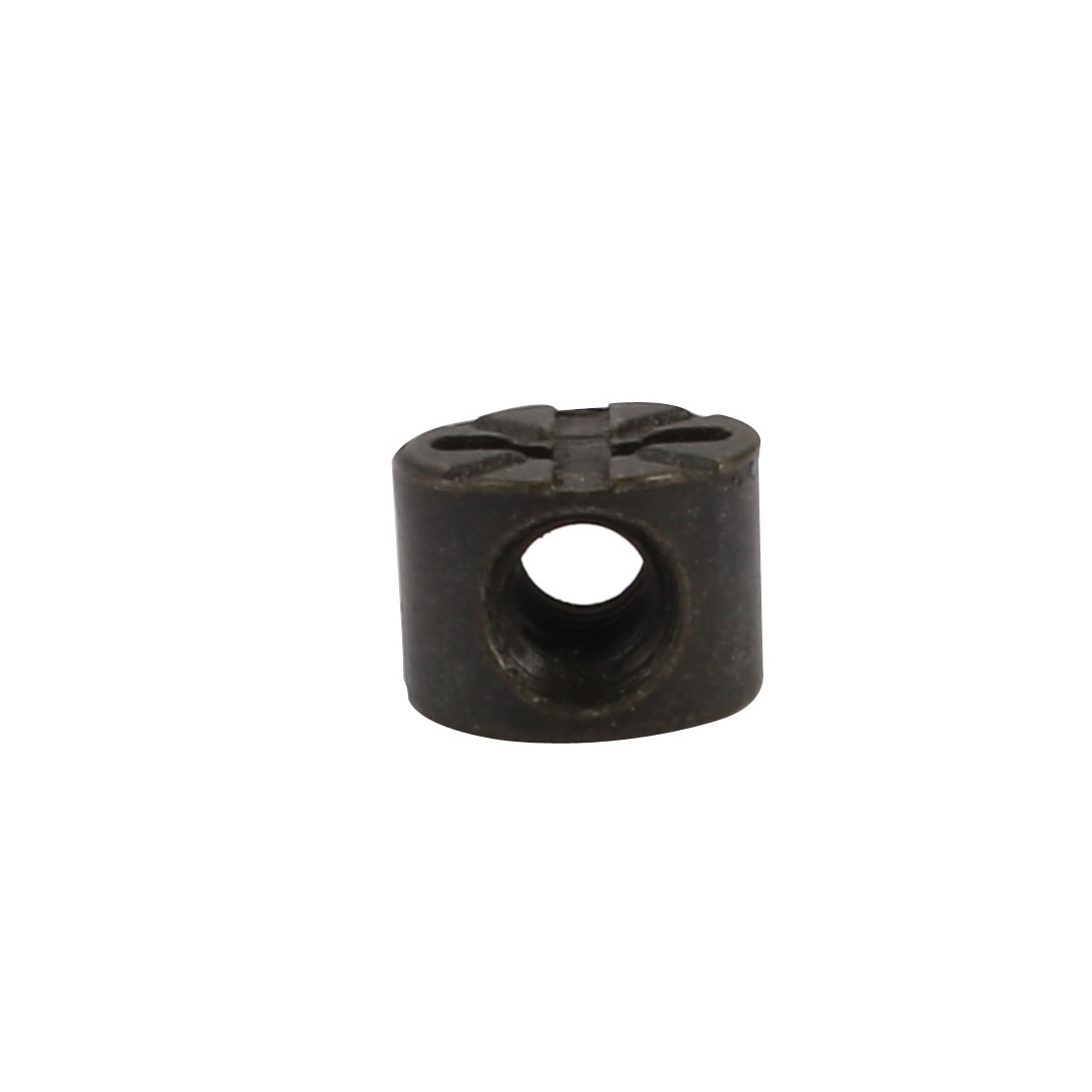 "40pcs 5/32"" Thread 7mm Length Zinc Alloy Pozidriv Drive Cross Dowel Nut Black - image 1 de 4"