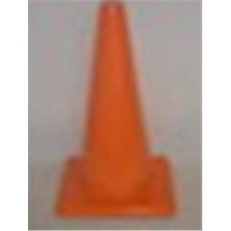 Everrich Evb 0032 2 18 In  Height Vinyl Cones Square Base  44  Yellow