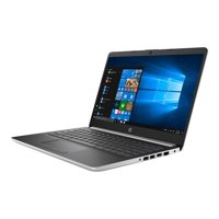 "HP 14-dk0076nr - A4 9125 / 2.3 GHz - Win 10 Home in S mode - 4 GB RAM - 64 GB SSD - 14"" 1366 x 768 (HD) - Radeon R3 - Wi-Fi, Bluetooth - natural silver, vertical brushed pattern - kbd: US"