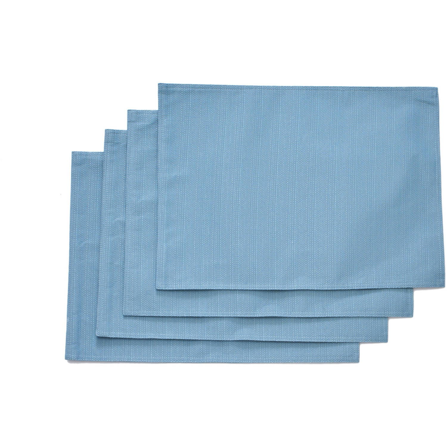 Better Homes and Garden Teal Silk Placemat, Set of 4 by TOWN AND COUNTRY LIVING