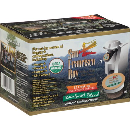 San Francisco Bay Rainforest Blend Single Serve Coffee, 4.65 oz, (Pack of 6) ()