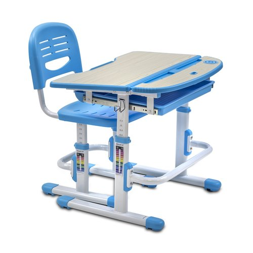 Mount It Height Adjustable 28 W Art Desk And Chair Set