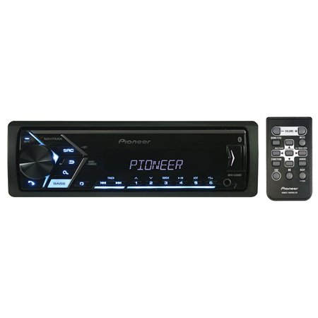 Pioneer Mvh-S300Bt Single-Din In-Dash Digital Media Receiver with (Pioneer Djm 300)