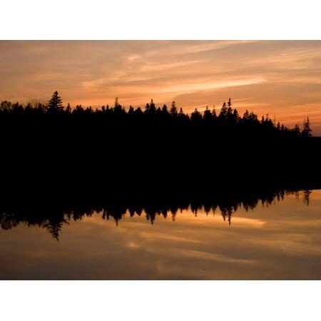 Sunset over Bass Harbor Marsh, Acadia National Park, Maine, USA Print Wall Art By Jerry & Marcy (National Harbor Com)