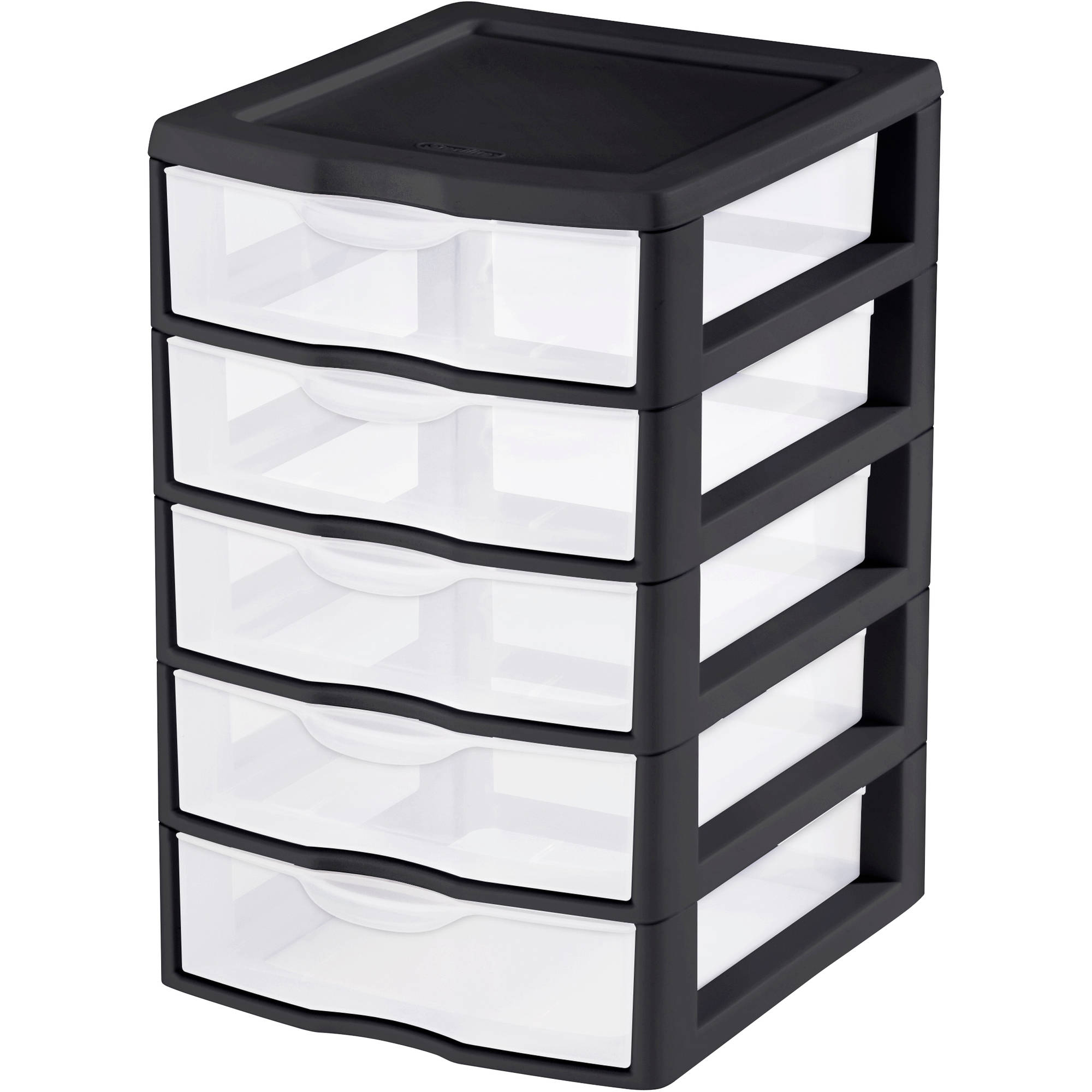 Sterilite Small 5-Drawer Unit